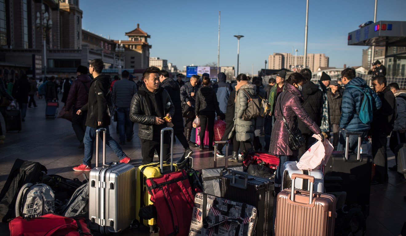 Chinese rail network predicts 440 million journeys over Lunar New Year period