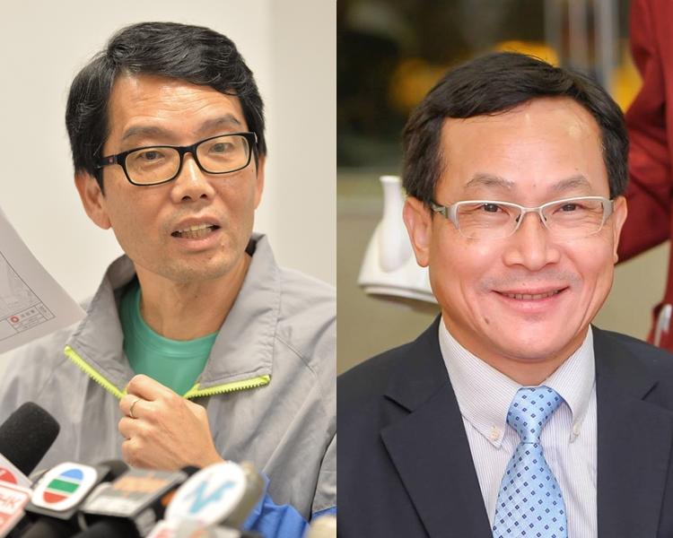 黄伟贤当选元朗区议会主席 麦业成任副主席