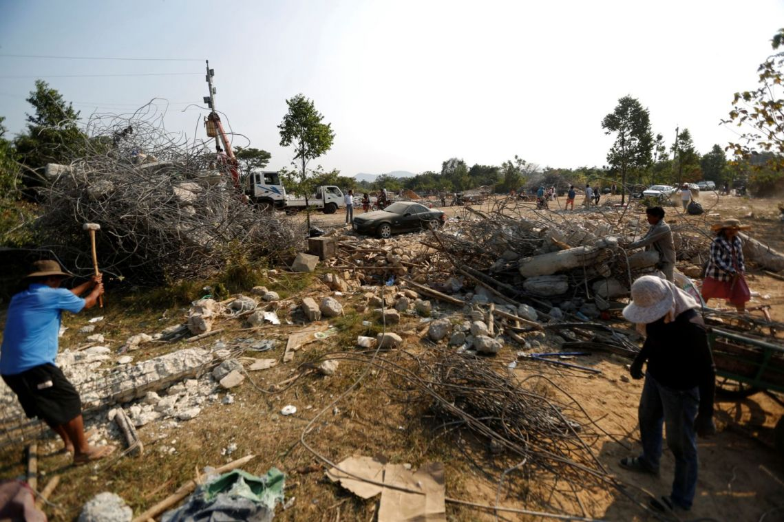 Owners of collapsed Cambodia building charged over deaths of 36 people