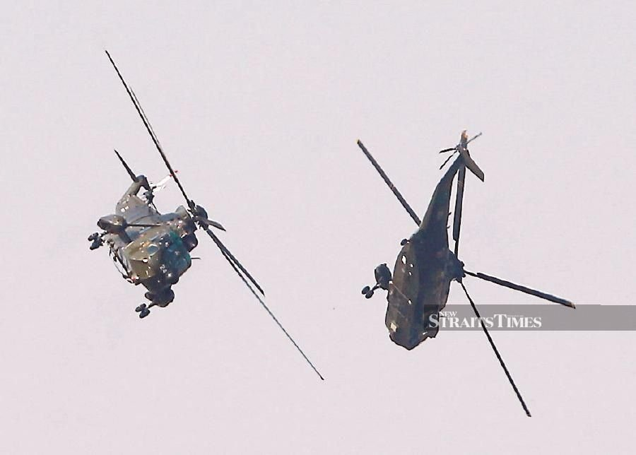 Famed copters bogged down by maintenance issue