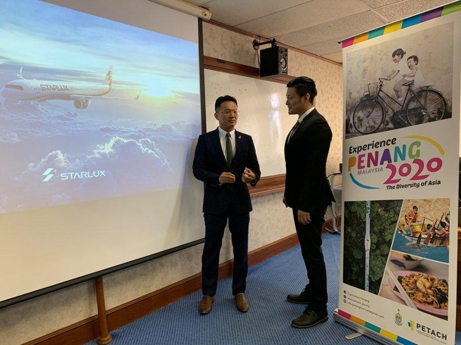 星宇航空开通 台北直飞槟城航线