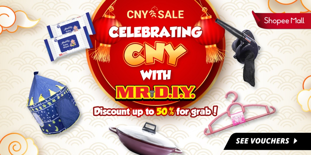 Mr DIY and Shopee join forces for CNY promotion