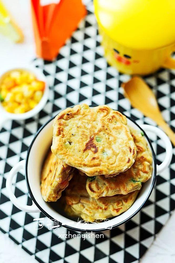 越吃越瘦的高纤莜麦小饼,早餐来一块,元气一整天~