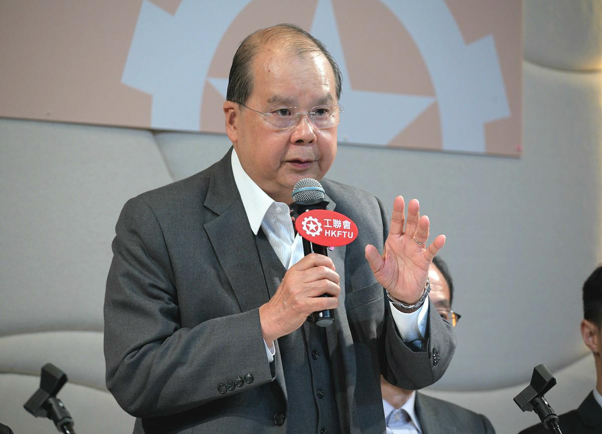 张建宗:约见新任区议员为沟通开始 是既有做法