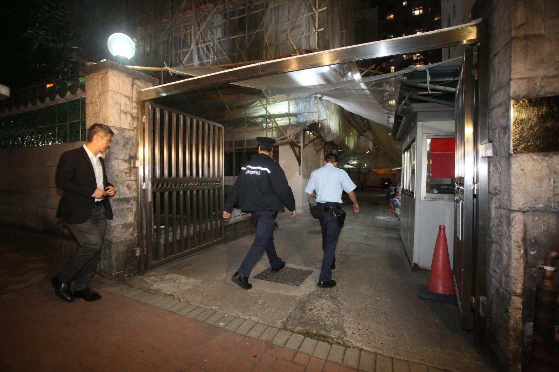 旺角男子被捕涉家庭纠纷持刀追斩胞弟