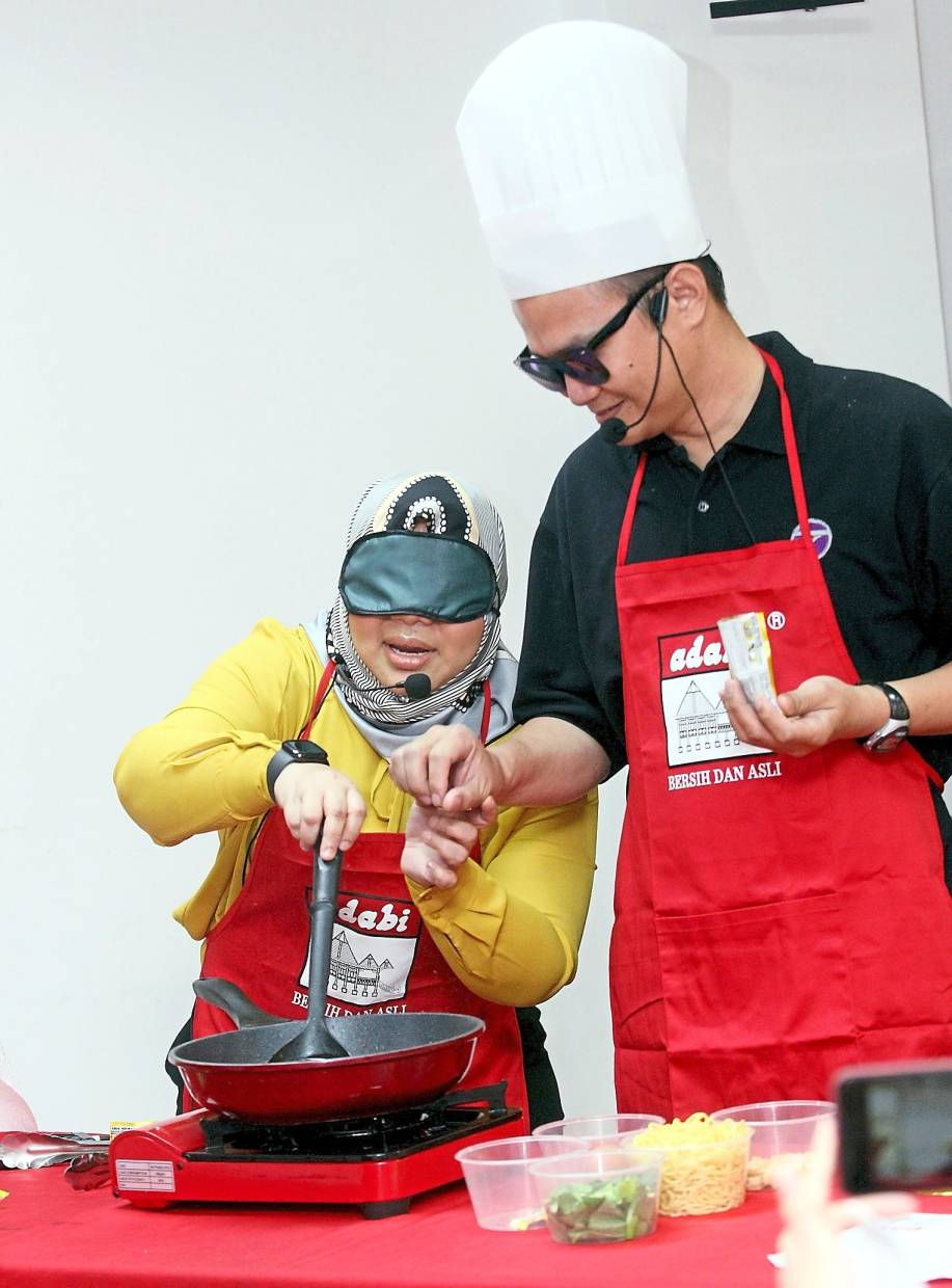 Recipe books boon for blind