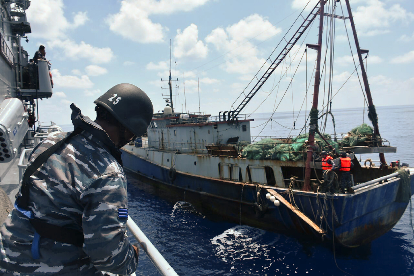 China, Indonesia square-off in South China Sea