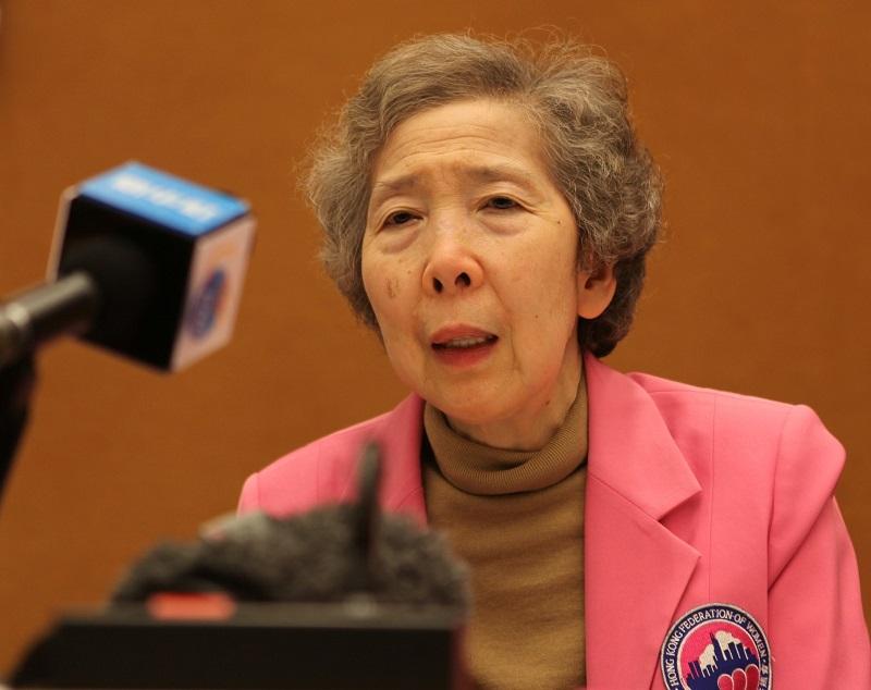 伍淑清获中新社选为「年度人物」 称为香港发声