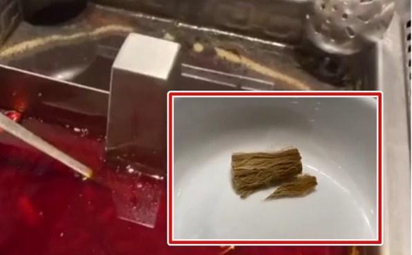 声称火锅内浮现烟头 食客要求店铺停业整顿一周