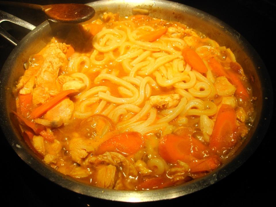 冷天面条和它是天生一对,5分钟出锅,鲜香嫩滑,简单营养又好吃