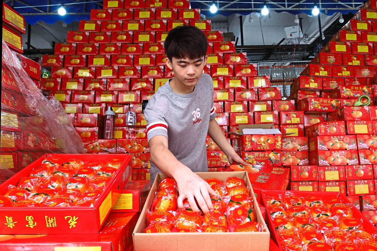 No increase in price of mandarin oranges but fruits are smaller