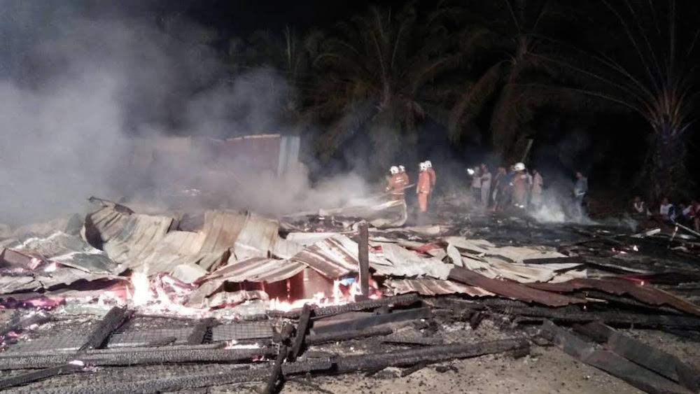 Two workers die in canteen blaze at Bintulu plantation