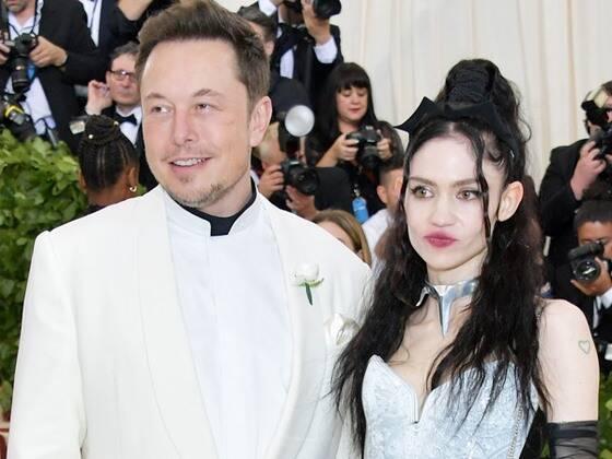 Grimes Shares Sweet Video of Elon Musk Cradling Their Newborn Son