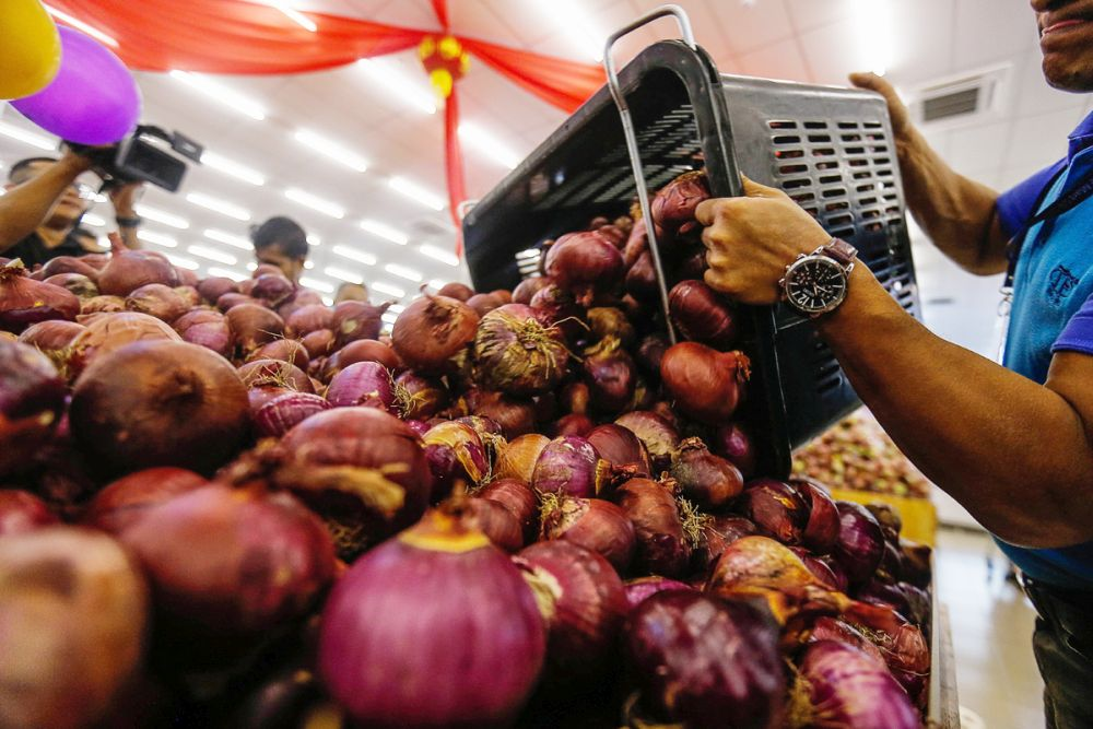 Why do onions cost most in Penang? Domestic Trade Ministry is on the case