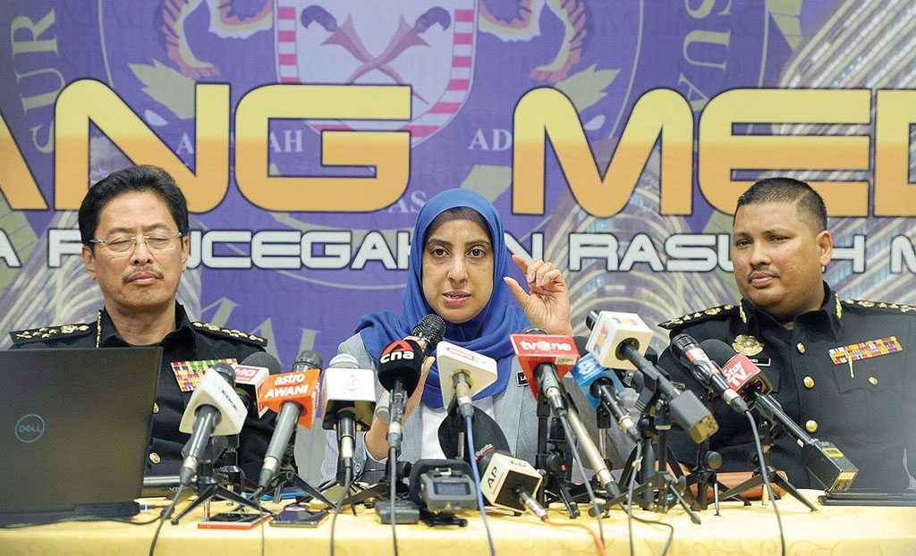 MACC reveals audio on alleged attempt to cover up 1MDB
