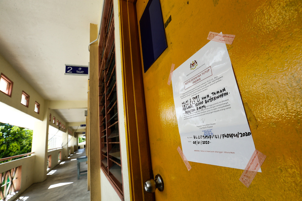 Penang, Perak, N. Sembilan see uptick in influenza cases among schoolchildren