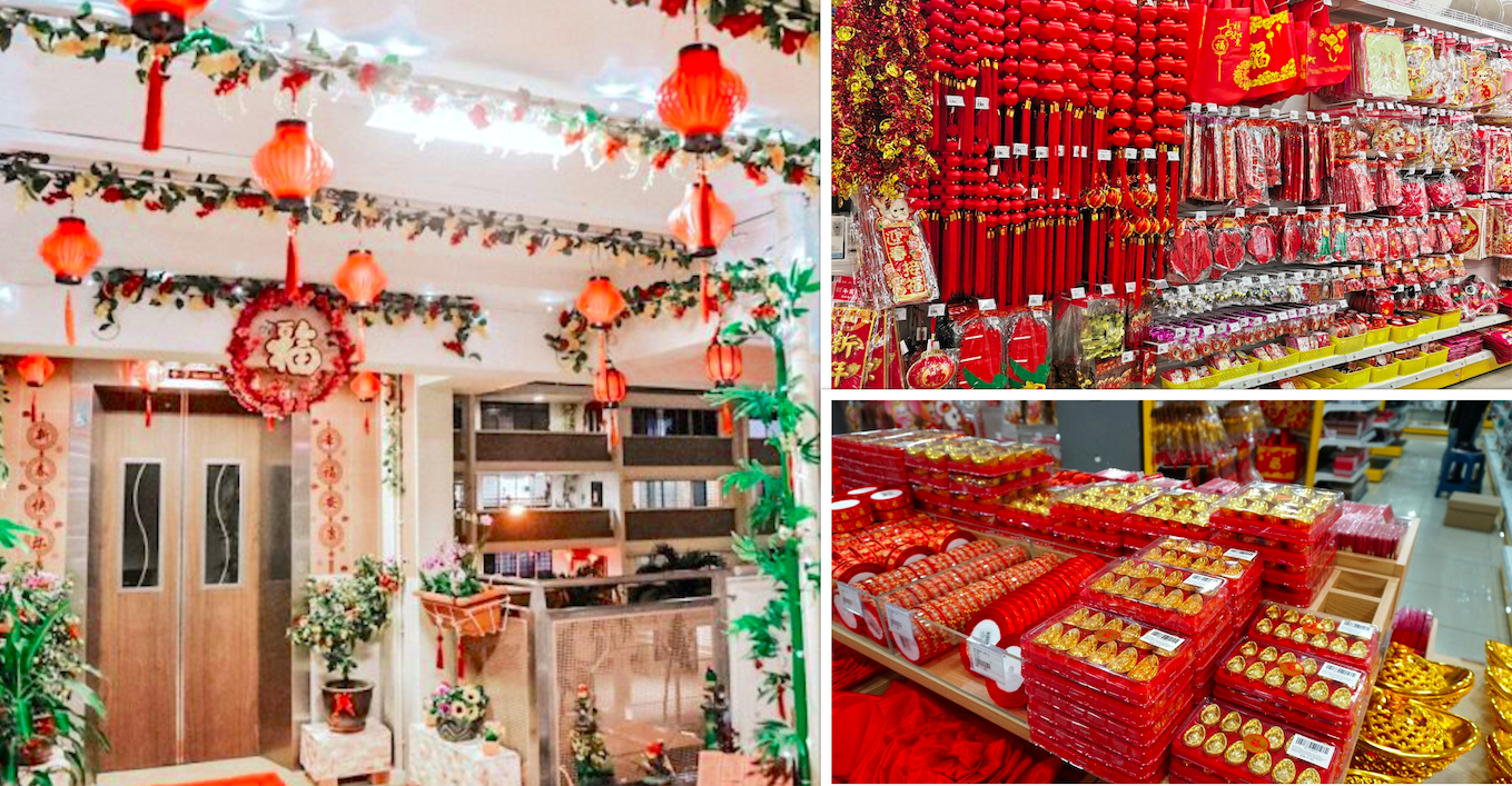 Here's where in Spore to buy CNY decorations from S$0.50 so you can spruce up on a budget