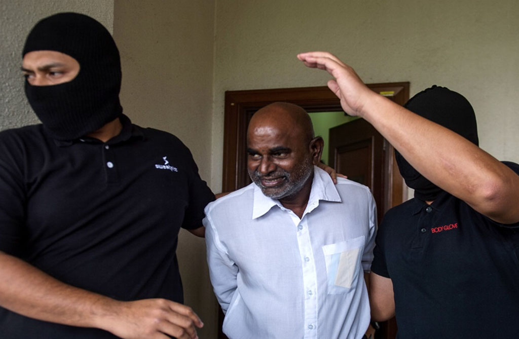 Gunasekaren claims trial to charge with supporting LTTE