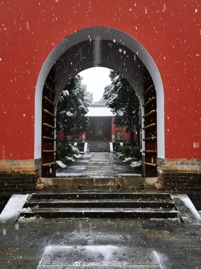 南京的初雪美爆了!100张照片,让你爱上这样温暖的南京!