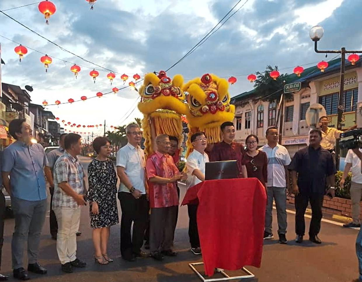 Nibong Tebal decked out for Lunar New Year
