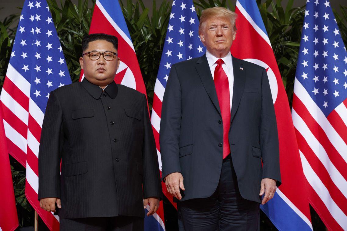 North Korea's Kim Jong Un receives birthday greetings from Trump