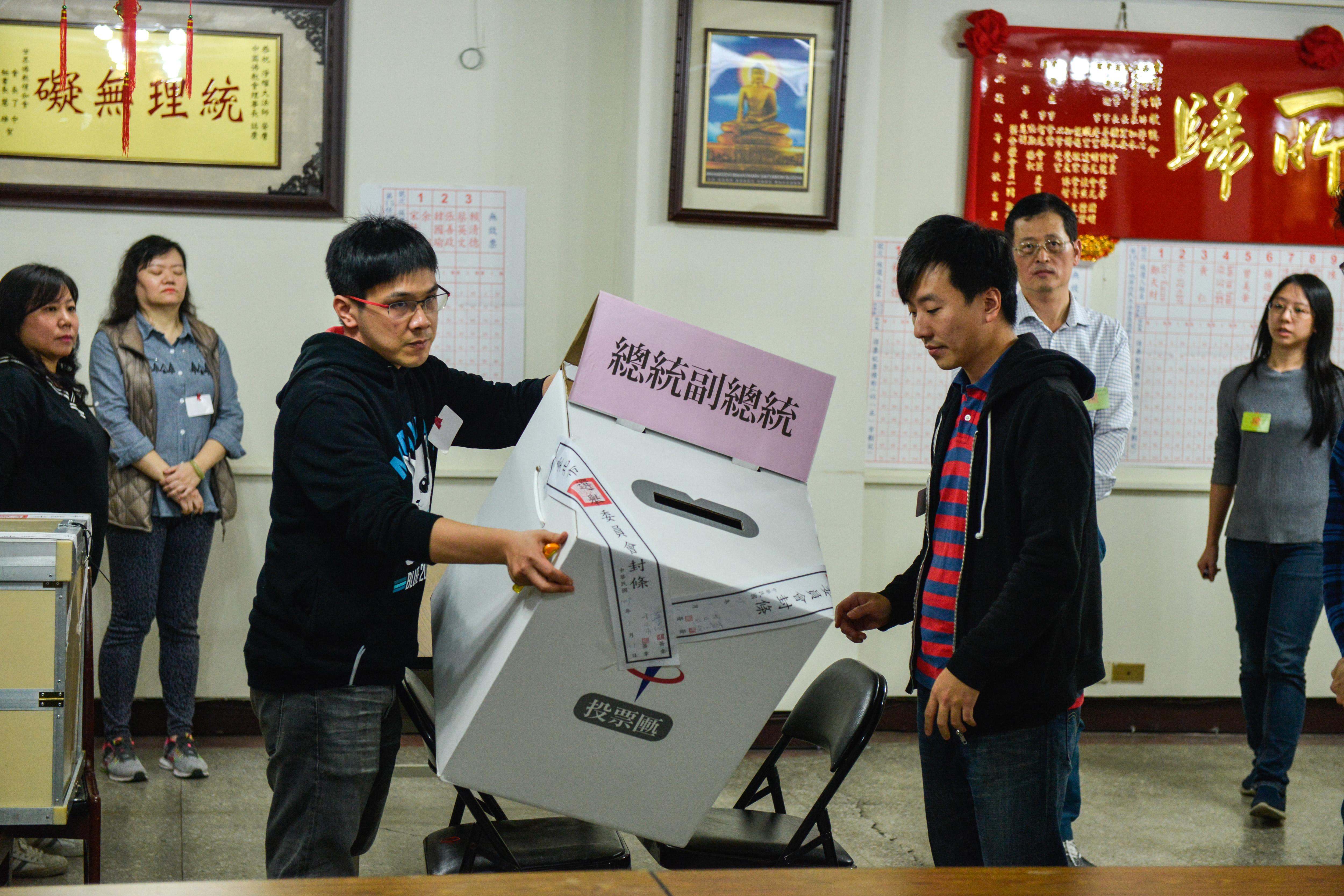 【台湾选举】非官方计票数据:蔡英文破400万票暂时领先