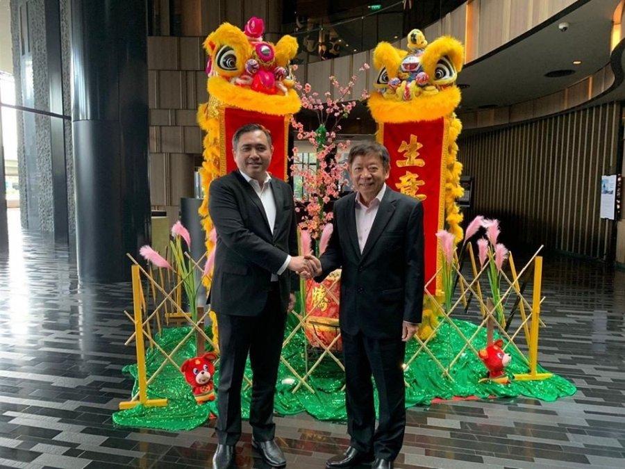 两国交长会面 商谈马新捷运工程计划