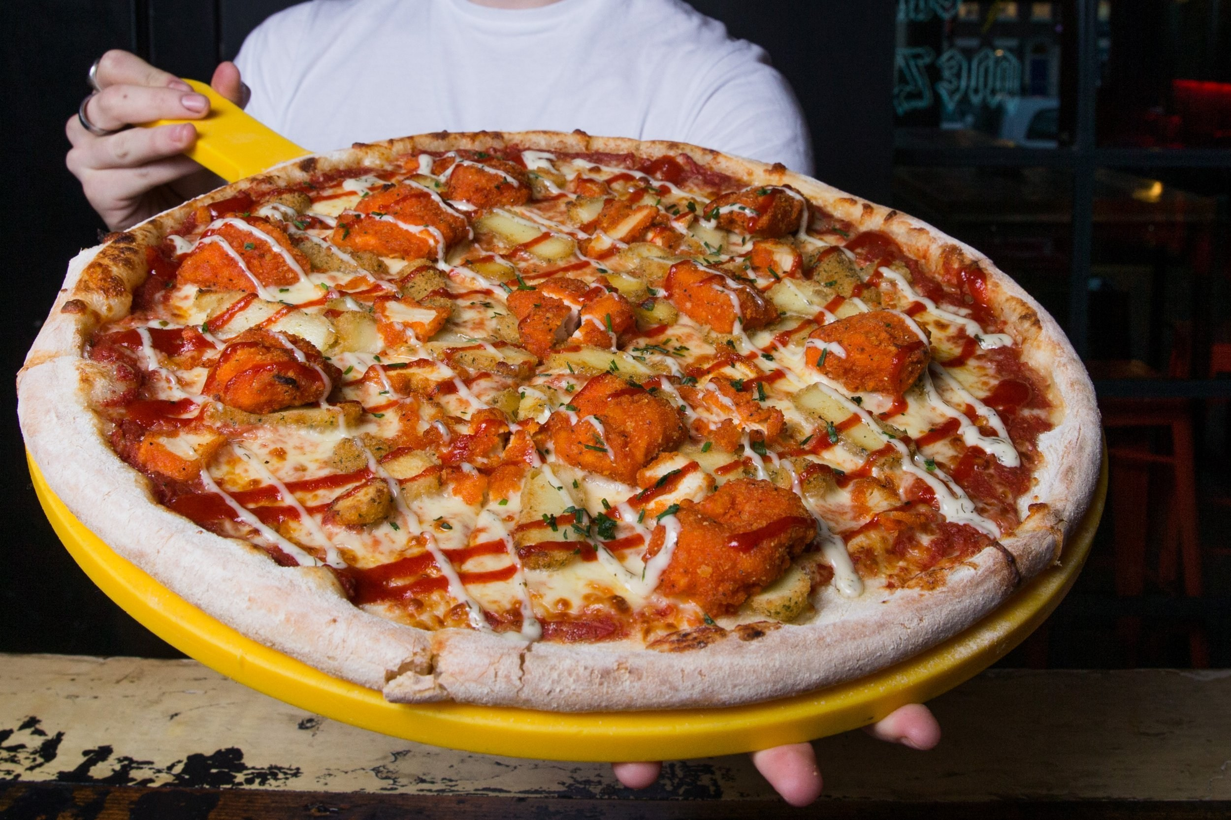 A chicken nugget pizza is now a thing thanks to this restaurant