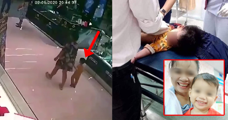 Innocent 2yo Boy Shot in the Head by Gunman in Thailand Mall Robbery, Mum Posts Tribute