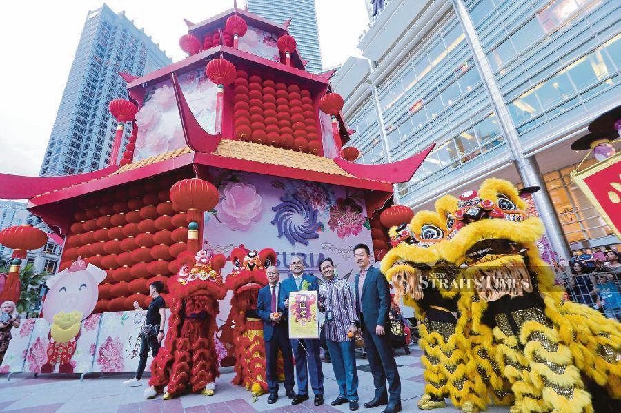 Suria KLCC's ancient pagoda captures nation's diversity