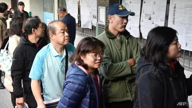 台湾总统暨立委选举 投票下午4点结束
