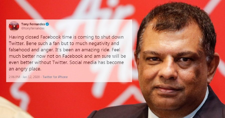 AirAsia boss hints at leaving Twitter