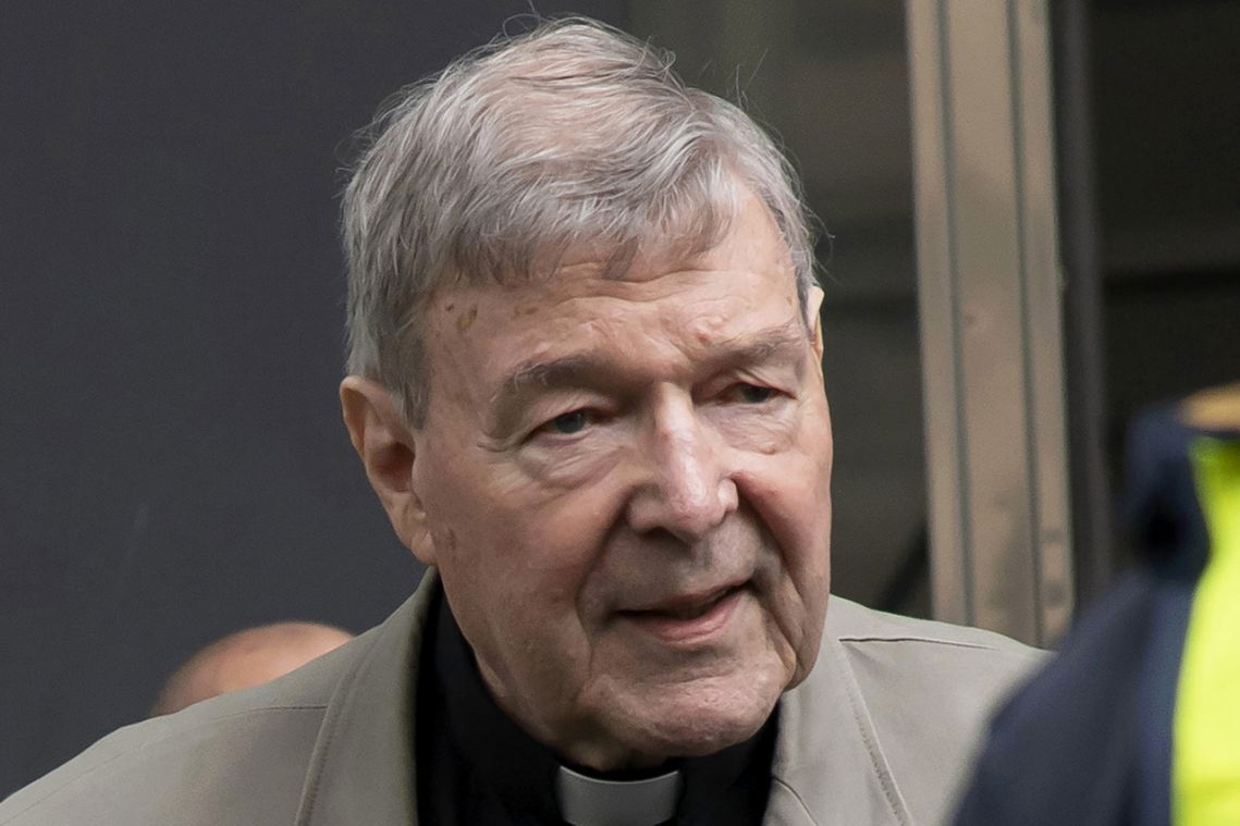 Drone flies over convicted Australian cardinal George Pell's prison
