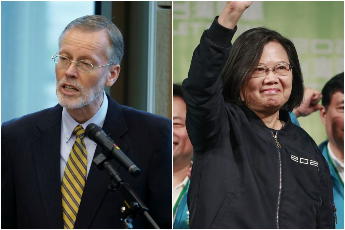 Taiwan leader Tsai Ing-wen meets top US official after her election win