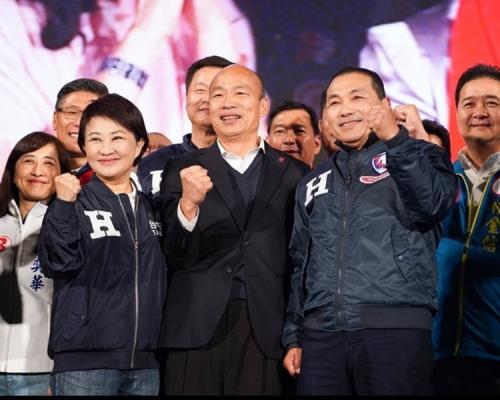 【台湾大选】韩国瑜:对选战无怨无悔