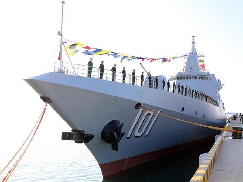 首艘万吨级驱逐舰 命名「南昌舰」入列海军