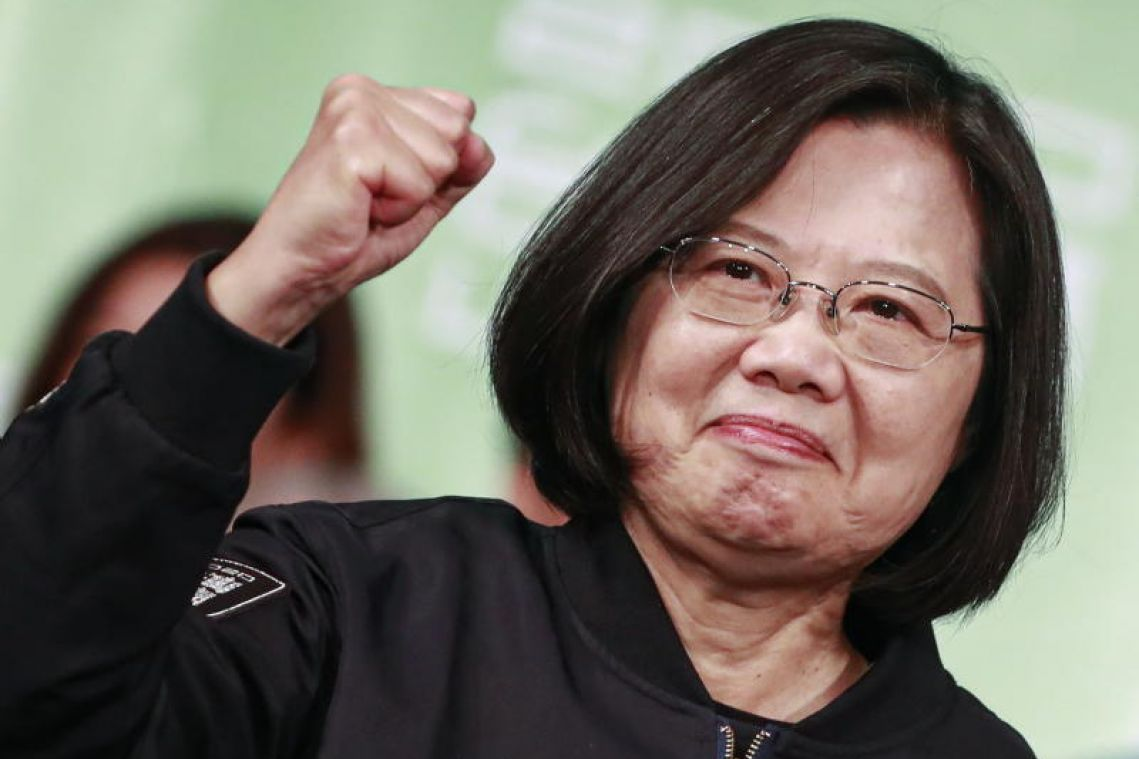 Taiwan elections: US hails leader Tsai Ing-wen's re-election, 'robust' democracy