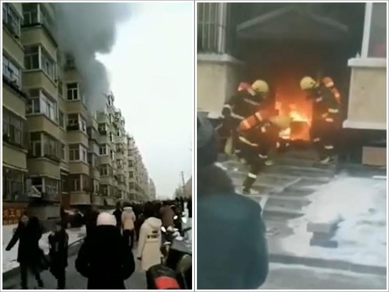 黑龙江住宅走廊火警酿2死2伤