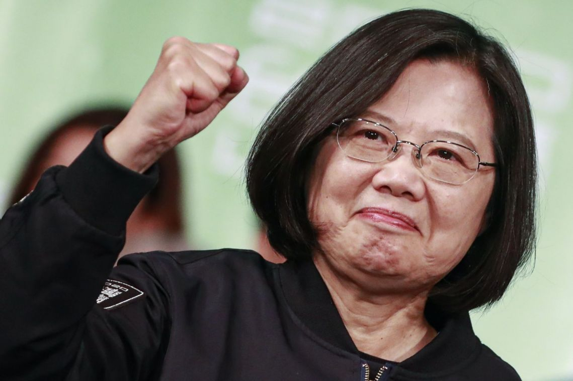 China says won't change position on Taiwan after President Tsai Ing-wen's landslide election
