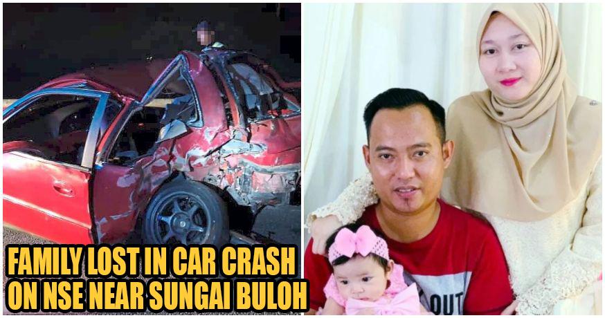 M'sian Dies After Losing Grandma, Mum, Wife & Daughter In Tragic Sungai Buloh Crash
