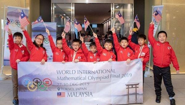 国际奥数赛为国争光 阿兹敏表扬9小学生