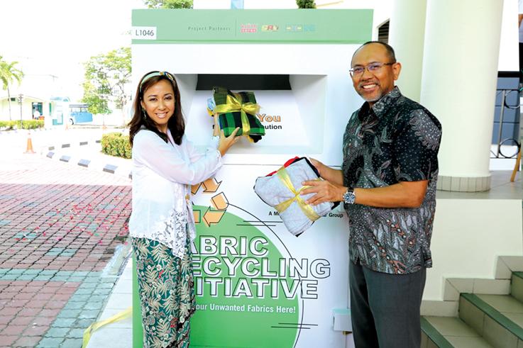 Gas Malaysia Berhad launches fabric recycling initiative