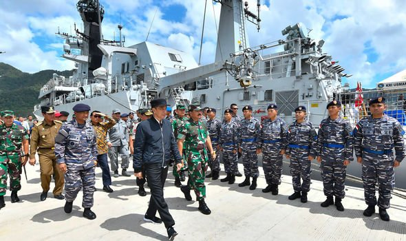 South China Sea: Indonesia scrambles warships and jets after Chinese vessels enter waters
