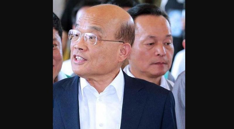 台湾大选:苏贞昌留任行政院长 内阁或轻微调整