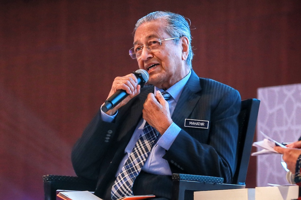 Dr M says 'will go now' if Pakatan parties want him to make way for Anwar