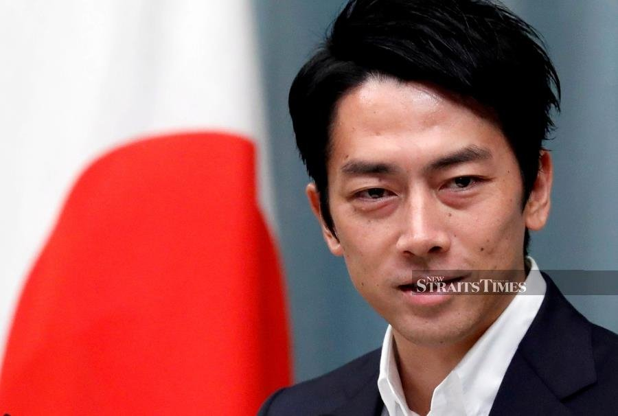 Shinjiro KoizumiJapan minister becomes first to announce paternity leave