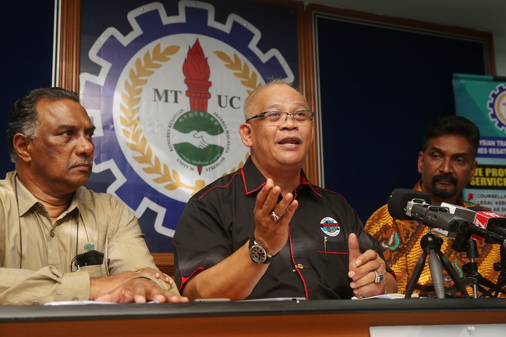 RoS removes temporary ban on MTUC