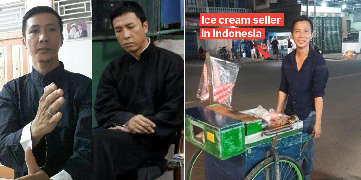 This donnie yen doppelganger makes US believe he retired from ip man 4 to sell ice cream