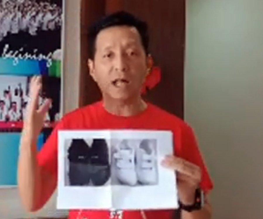 """白鞋?黑鞋? 胡栋强直呼""""Beh Tahan"""""""