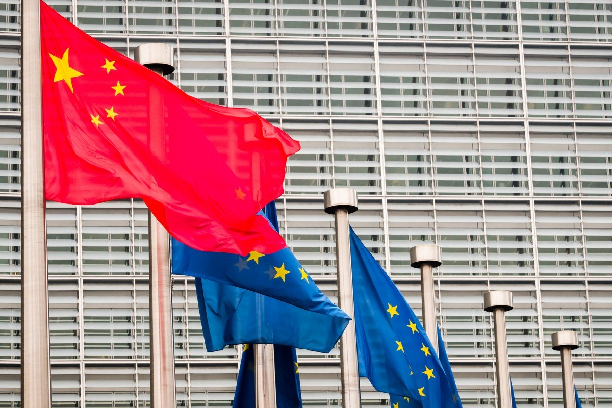Chinese giants thrive as European firms battle belt and road entry barriers, report says